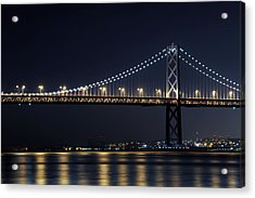 Bay Bridge Acrylic Print by Catherine Lau