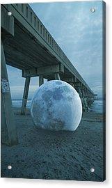 Beach Ball Acrylic Print by Betsy Knapp