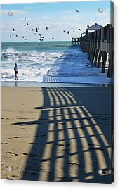 Beach Bliss Acrylic Print by Laura Fasulo