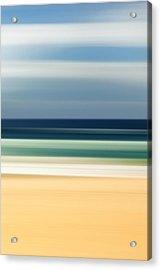 Beach Pastels Acrylic Print by Az Jackson