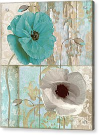 Beach Poppies II Acrylic Print by Mindy Sommers