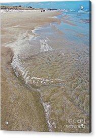 Beach Season Acrylic Print by Marcia Lee Jones