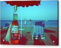 Beach Time Acrylic Print by La Dolce Vita