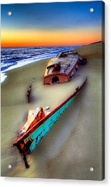 Beached Beauty Acrylic Print by Dan Carmichael