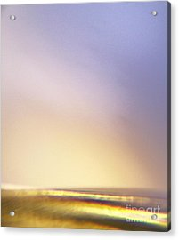 Beachglass Three Acrylic Print by Sally Siko