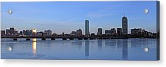 Beantown On Ice Acrylic Print by Juergen Roth