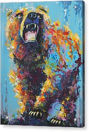 Bear Market C Acrylic Print by John Henne