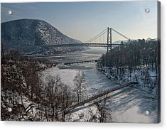 Bear Mountain Bridge Acrylic Print by Photosbymo