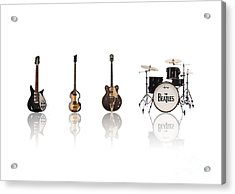 Beat Of Beatles Acrylic Print by Six Artist