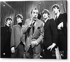 Beatles And Ed Sullivan Acrylic Print by Granger