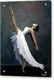 Beautiful Dancer Acrylic Print by Janet King