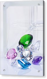Beautiful Jewel Acrylic Print by Atiketta Sangasaeng