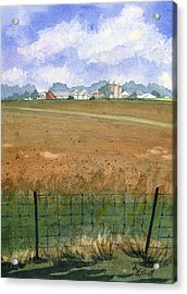 Beautiful Ohio Acrylic Print by Marsha Elliott