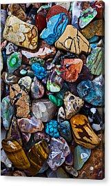 Beautiful Stones Acrylic Print by Garry Gay