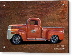 Beautiful Truck Acrylic Print by Jim  Hatch