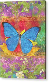 Beauty Queen Butterfly Acrylic Print by JQ Licensing