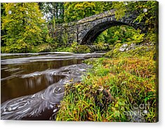 Beaver Bridge Acrylic Print by Adrian Evans