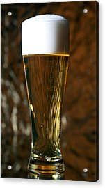 Beer God's Gift To Man Acrylic Print by Michael Ledray