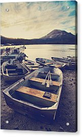 Before Another Day Disappears Acrylic Print by Laurie Search
