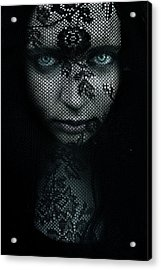 Behind Acrylic Print by Cambion Art