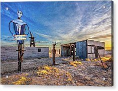 Believe Acrylic Print by Peter Tellone