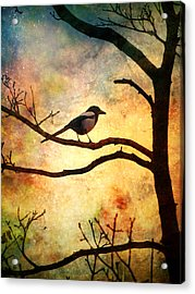 Believing In The Morning Acrylic Print by Tara Turner