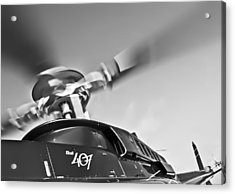 Bell 407 Acrylic Print by Patrick M Lynch