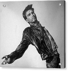 Ben Affleck Acrylic Print by Jennifer Bryant