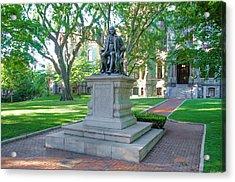 Ben Franklin - Upenn Acrylic Print by Bill Cannon