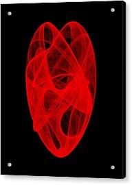 Bends Unraveling IIi Acrylic Print by Robert Krawczyk