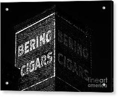 Bering Cigar Factory Acrylic Print by David Lee Thompson