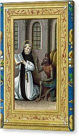 Bernard De Clairvaux Acrylic Print by Granger