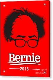 Bernie Sanders Acrylic Print by Marvin Blaine