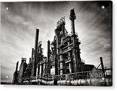 Bethlehem Steel Acrylic Print by Olivier Le Queinec