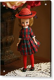 Betsy Doll Acrylic Print by Marna Edwards Flavell
