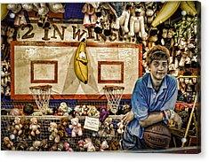 Beware The Smiling Banana  Acrylic Print by Bob Orsillo
