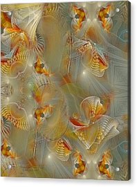 Beyond The Dance Of Life Acrylic Print by Gayle Odsather