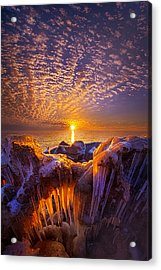 Beyond The Limits Acrylic Print by Phil Koch