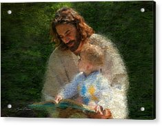 Bible Stories Acrylic Print by Greg Olsen