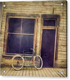 Bicycle Acrylic Print by Priska Wettstein
