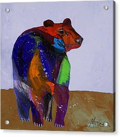 Big Bear Acrylic Print by Tracy Miller