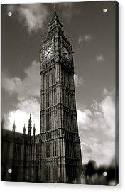 Big Ben Acrylic Print by John Colley