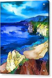 Big Sur Coast Acrylic Print by ABeautifulSky Photography