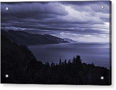 Big Sur Storm Acrylic Print by Matt  Trimble