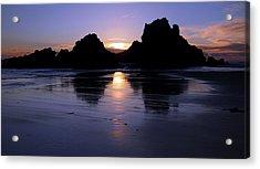 Big Sur Sunset Acrylic Print by Pierre Leclerc Photography