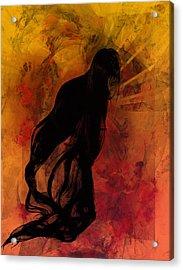 Bijin Acrylic Print by C G Rhine