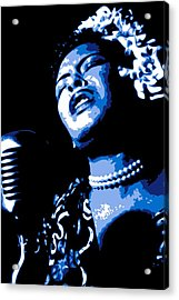 Billie Holiday Acrylic Print by DB Artist