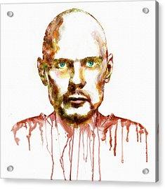 Billy Corgan Acrylic Print by Marian Voicu