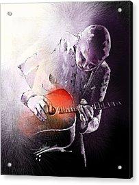 Billy Corgan Acrylic Print by Miki De Goodaboom