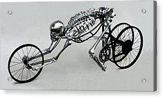 Bio Cycle Acrylic Print by Jud  Turner